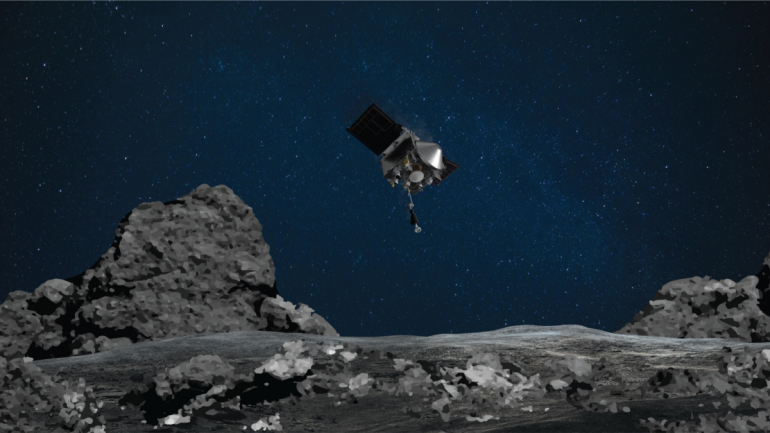 NASA spacecraft captures more asteroid samples than expected