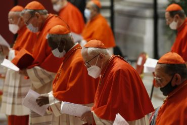 Pope elevates 13 new cardinals - and then puts them in their place