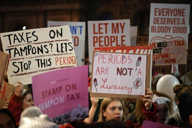 Scotland becomes first country to introduce universal access to period products