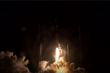 Space X sent a Falcon 9 rocket into its seventh spaceflight