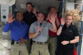 SpaceX crew dragon astronauts describe exciting journey into orbit
