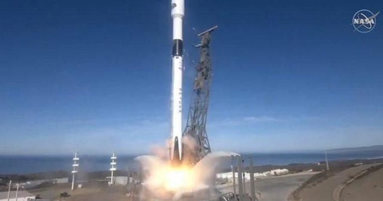 SpaceX launches NASA-European satellite to monitor sea level rise
