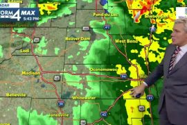 Storms move, cold temperatures move inwards