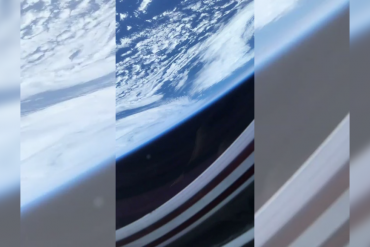 The first 'out of the world' video of the Earth astronaut taken from space goes viral