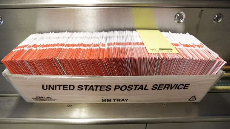 Trump appealed the ruling on electoral postal services