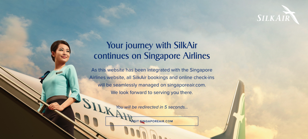 Singapore Airlines Silkcare