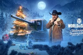 The world of tanks is gaining holiday content ... Chuck Norris?