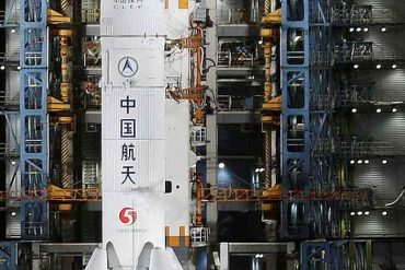 China completes docking in lunar orbit for first time |  Life