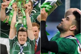 Ireland legends Brian O'Driscoll and Conor Murray 'World Team of the Decade'