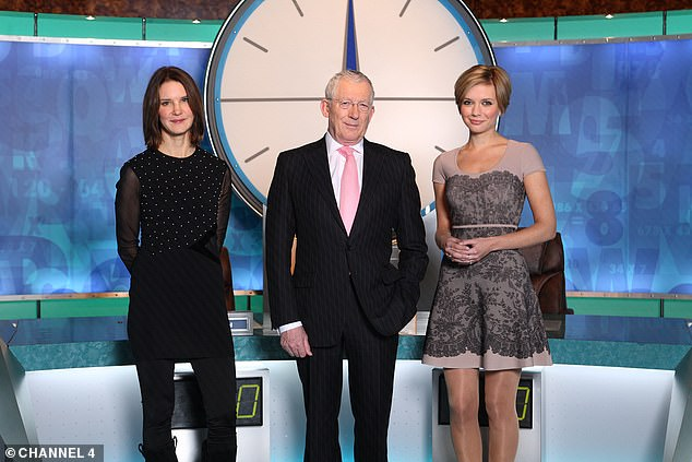 Heads up: Presenter talks about how the corona virus pandemic prompted him to rethink his future (with co-hosts Susie Dent, left, and Rachel Riley in 2011)