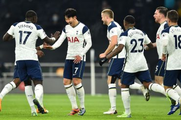 Troy Deaney disagrees with Tottenham-style Graeme Sensen after a 2-0 win over Arsenal