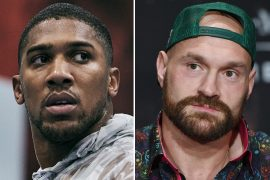 Anthony Joshua says he was 'just playing' with Tyson Fury about the management offer and that his heavyweight opponent is 'Nibbled'