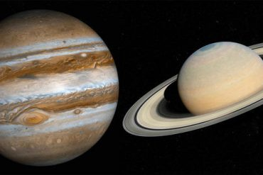 The 'great combination' of Jupiter and Saturn will take place on December 21st