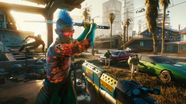 Don't worry if your 'CyberPunk 2077' Steam Download is stuck at 57.4 GB with download