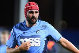 European Challenge Cup: Falcons v Cardiff Blues at Newcastle (Silver)