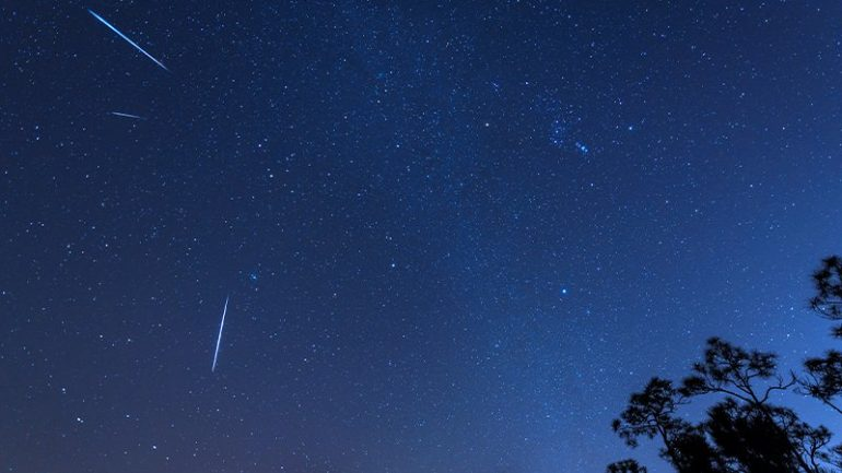 The Gemini meteor shower will appear in the Irish sky this weekend