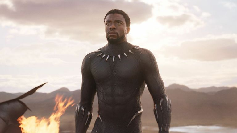 Black Panther star Chadwick Bosman.  Image: Marvel / Disney / Koble / Shutterstock