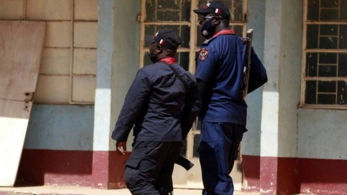 Police deploy students after gunmen abduct students from All-Boys Government Science School in Kankara, northwestern Katsina state, Nigeria
