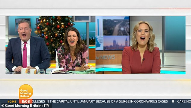 Heart Warming: Good Morning Britain clearly surpassed hosts Pierce and Susanna in her vocal skills