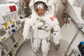 Former ISS Commander Chris Hadfield on the need for a brighter future
