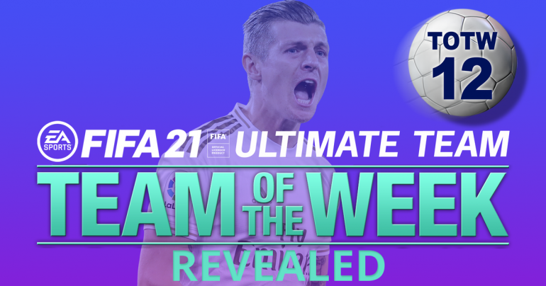 FIFA 21 TOTW 12 lineup confirmed with Tony Cruise and Jamie Verdi