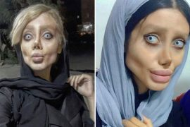 Iran's 'Zombie Angelina Jolie' is a Photoshop scam, showing images as if for the first time in years