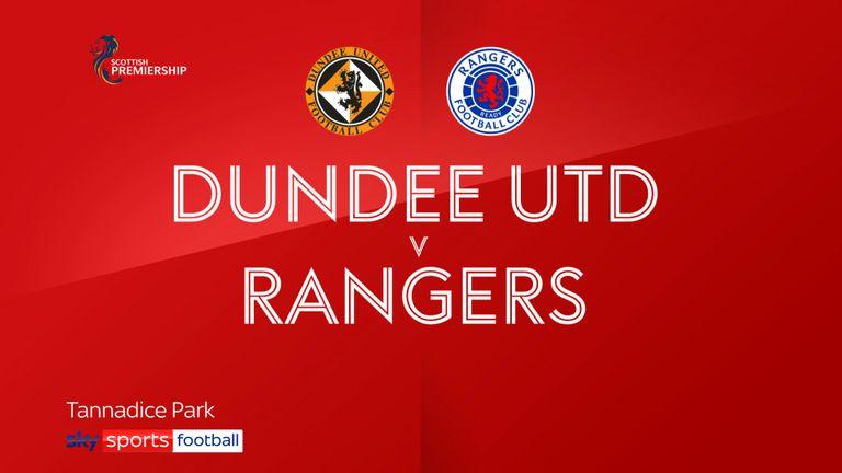 Dundee V Rangers gfx