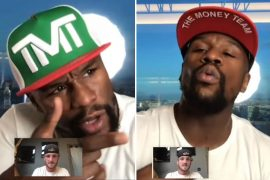 FaceTime Logan Paul reveals boxing legend with Android Mayweather enough to land an unexpected fight deal
