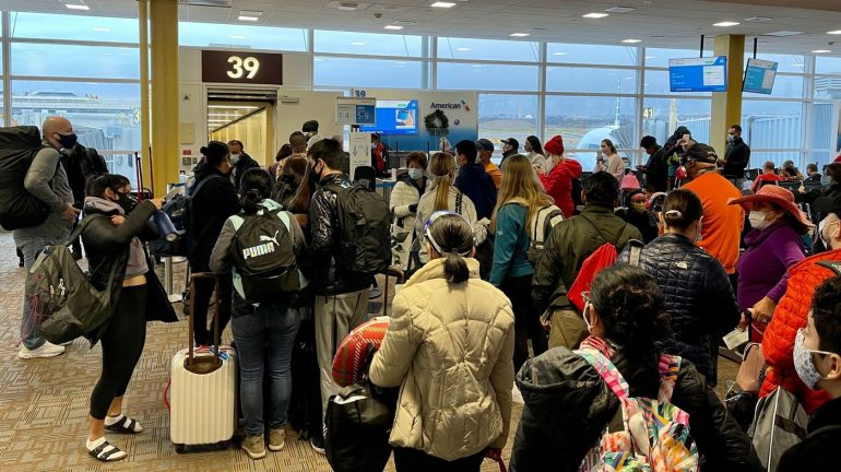 More than a million people flew to the US yesterday, TSA reports: NPR