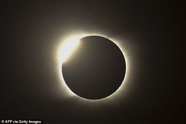 A total solar eclipse last week spread across South America, sending thousands of people into darkness in Argentina and Chile.