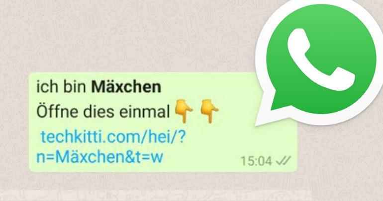 WhatsApp: Weihnachtsgrüße, die misstrauisch machen