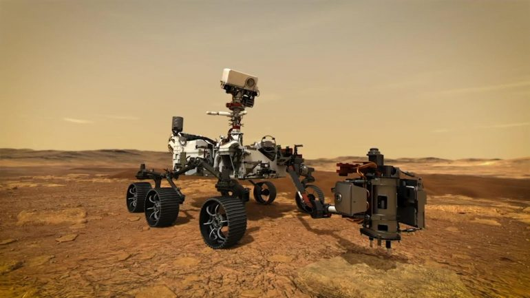 This is how NASA collects samples on Mars  Video