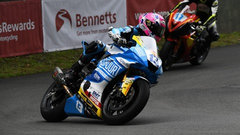TT: Lee Johnston and Paul Jordan self-console with BSB
