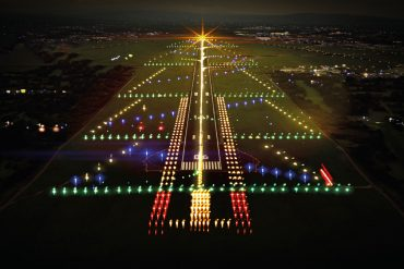 Shannon Airport makes the runway a Christmas tree in the Creative Campaign