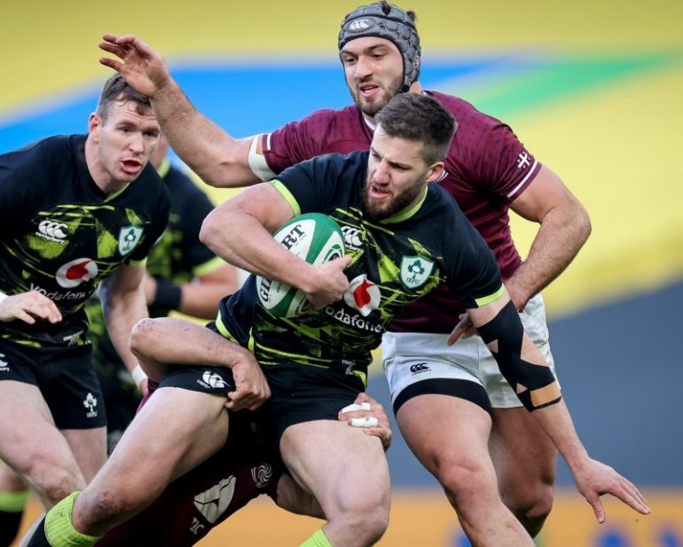 Ireland - Georgia 23-10 [VIDEO] - International Rugby - Rugbymeat