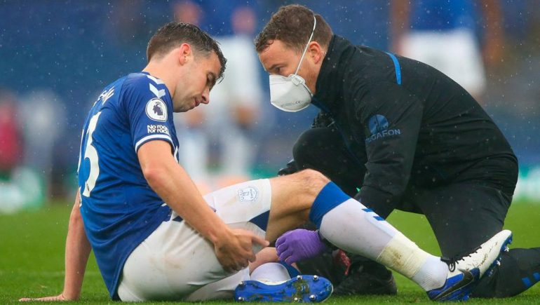 Ancelotti confirms Seamus Coleman in training and close to return