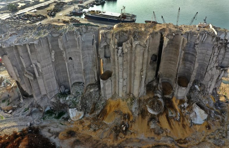 Beirut Silos at the heart of the discussion about remembering the port explosion