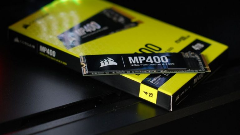 Corsair MP400 4TB Test: High capacity SSD under certain conditions