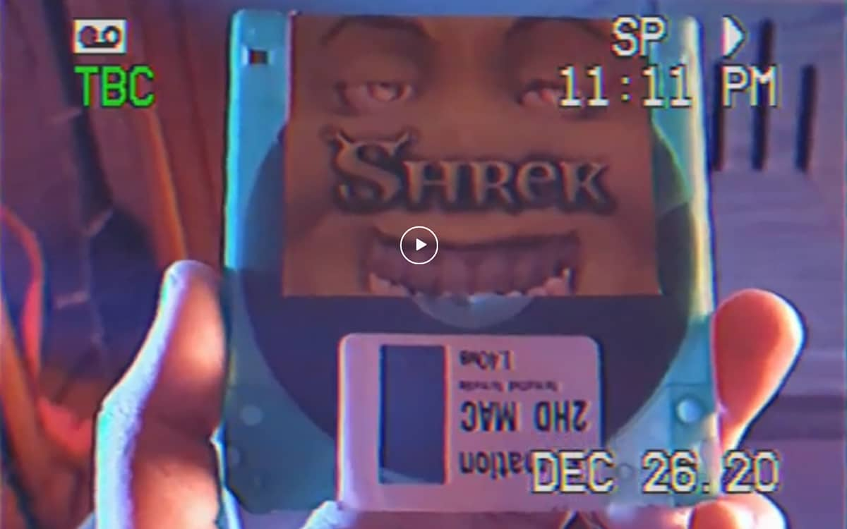 Shrek Film Diskette