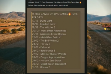 Epic Games Games Games Birthday Games December 2020 List: 15 Free Birthdays And How To Get Them Every Day!