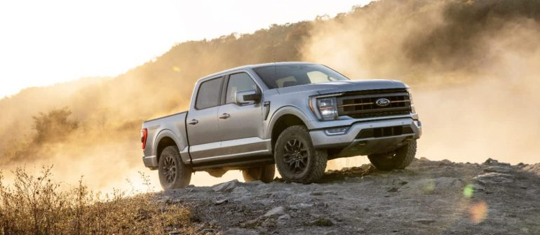 Ford has announced the F150 'Tremmer' pickup with new off-road ads