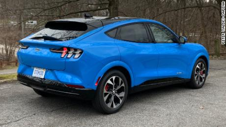 The Ford Mustang Mac-E offers decent practicality when it comes to enjoying what a Mustang should be.