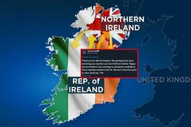 Gafe about Amazon and Northern Ireland reuniting for a rugby match