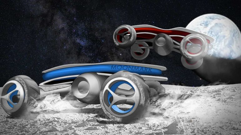 Highschools RC cars are designed for a race ... on the moon