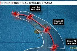 Hurricane Yasa: Hurricane Typhoon hits Fiji