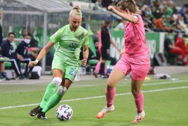 Feierte nun ihr Debüt im Nationalteam: VfLerin Pia-Sophie Wolter (l.).