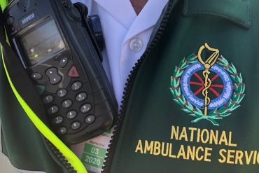 NAS paramedics to assist in Northern Ireland