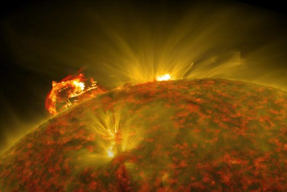 NASA captures stunning imagery of plasma explosions in the sun