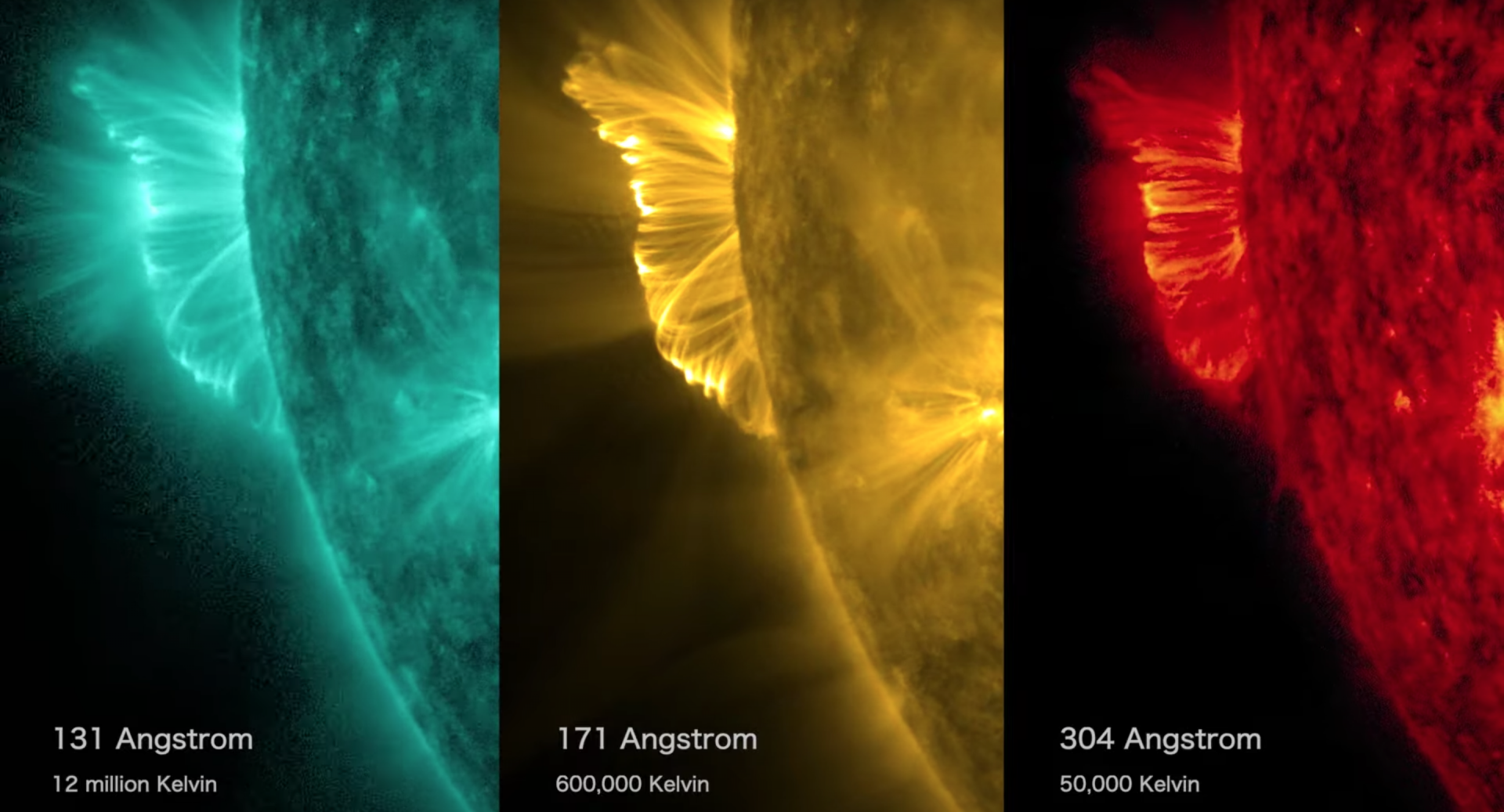 NASA's Solar Dynamics Observatory captured stunning imagery of a solar flare.