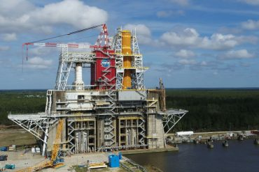 NASA launches first-ever space launch system to refuel megacrocket core